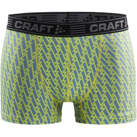 "Craft Greatness Boxer 3"" Uomo, acid/black"
